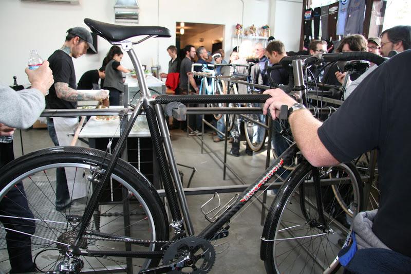 Bruce Gordon carbon fiber randonneur