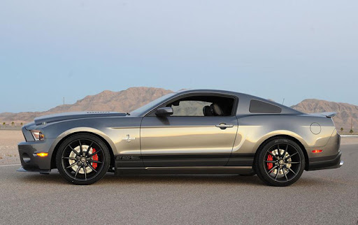 Shelby GT500 Super Snake 2012 side