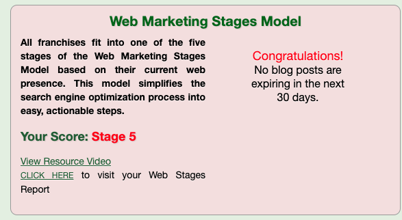 Stage five SERVPRO website