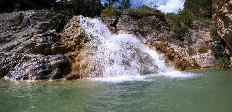 Cascada del Río Fraile.