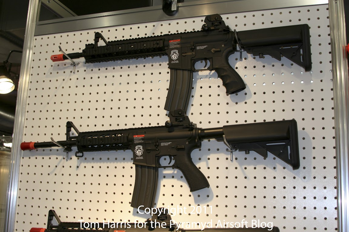 Airsoft Guns, G&G, Guay & Guay, Airsoft Shot Show 2011 News, GR15 Raider XL Electric Blowback Series,Airsoft Automatic Electric Gun, Electric Blowback Rifle,Airsoft AEG, Airsoft EBBR,Pyramyd Air, Pyramyd Airsoft Blog, Airsoft Obsessed, Airsoft Blog,