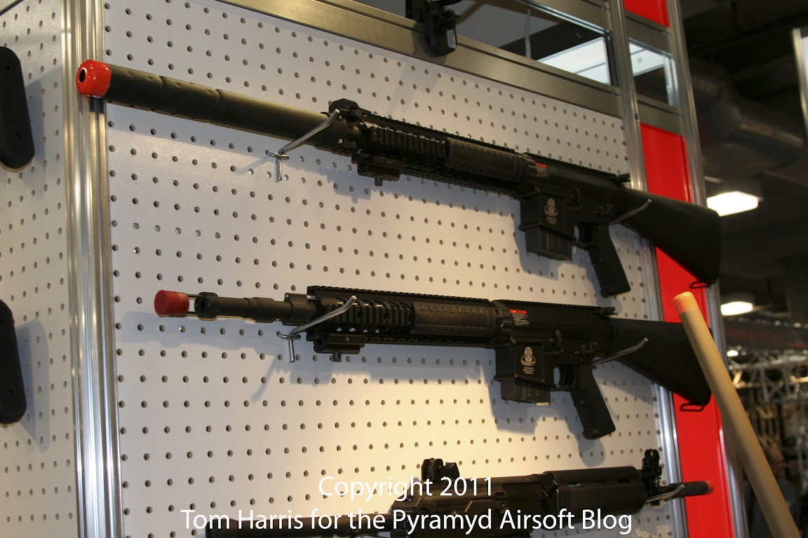 Airsoft Guns, G&G, Guay & Guay, Airsoft Shot Show 2011 News, GR25 Semi Automatic Sniper Rifle, GR25 SPR, Special Purpose Rifle,Airsoft Automatic Electric Gun, Electric Blowback Rifle, Close Quarter Combat Airsoft Gun, Designated Marksman Rifle,Airsoft AEG, Airsoft EBBR, CQB Airsoft Gun, Airsoft DMR,Pyramyd Air, Pyramyd Airsoft Blog, Airsoft Obsessed, Airsoft Blog,