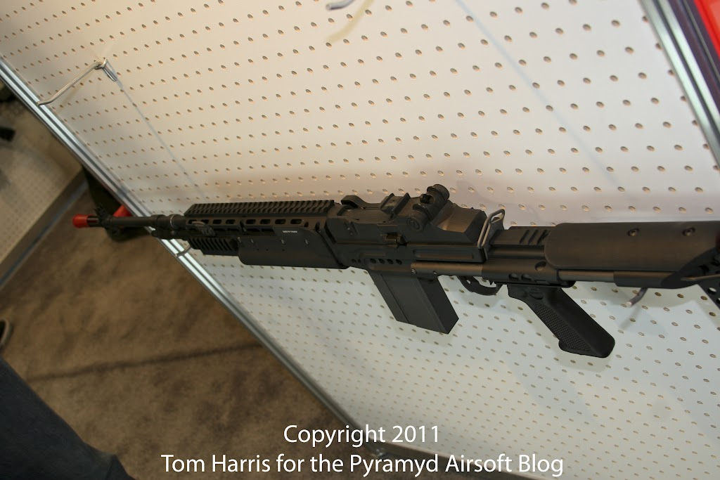 Airsoft Guns, G&G, Guay & Guay, Airsoft Shot Show 2011 News, PolarStar HPA Fusion Engine,G&G GR14 EBR, G&G M14 EBR, G&G GR14 HBA, G&G Sage International M14 AEG,Airsoft Automatic Electric Gun, Electric Blowback Rifle, Close Quarter Combat Airsoft Gun, Designated Marksman Rifle, convert airsoft rifle to HPA,Airsoft AEG, Airsoft EBBR, CQB Airsoft Gun, Airsoft DMR, Airsoft HPA rifle,Pyramyd Air, Pyramyd Airsoft Blog, Airsoft Obsessed, Airsoft Blog,