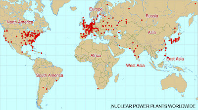 nuclear power world map Peta peta terlarang...