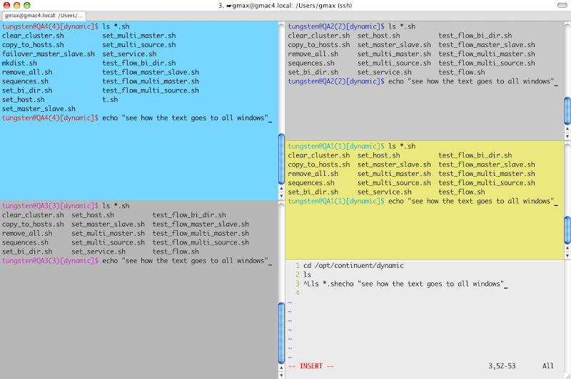 The Data Charmer: A cool terminal tip for Mac users