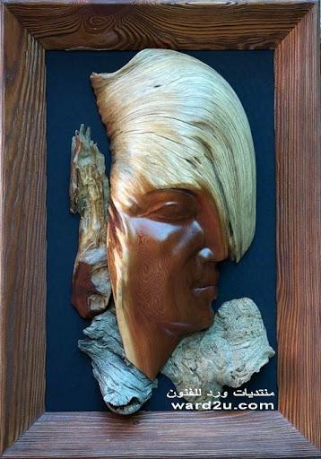منحوتات خشب روعة من العدم