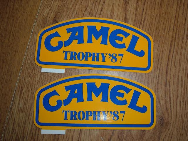Vendo Autocolantes Camel Trophy Madagascar '87 + Lampadas H4 DSCF0828