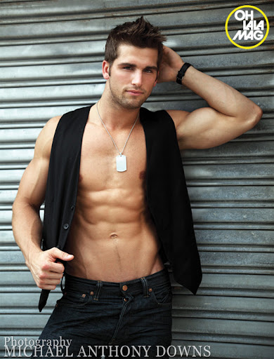 Picture About Male Model Kyle Tiringer