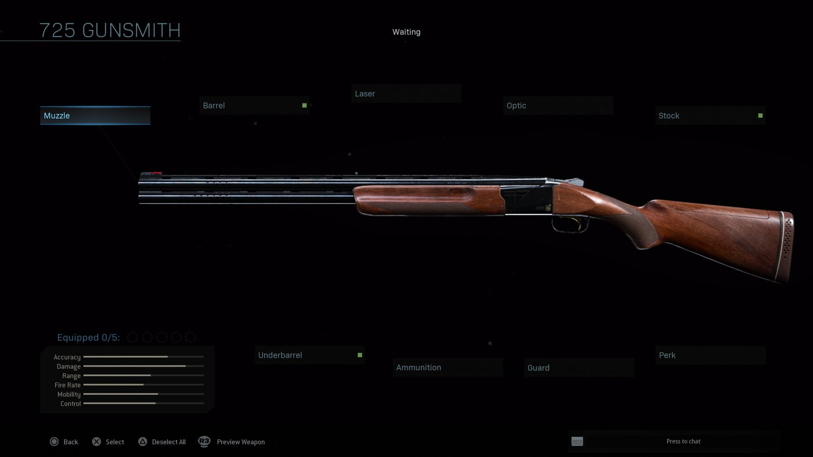 725 Shotgun
