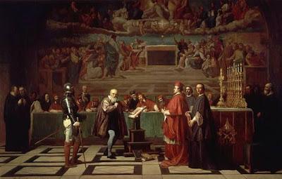 Galileo ante el Santo Oficio por Joseph-Nicolas Robert-Fleury