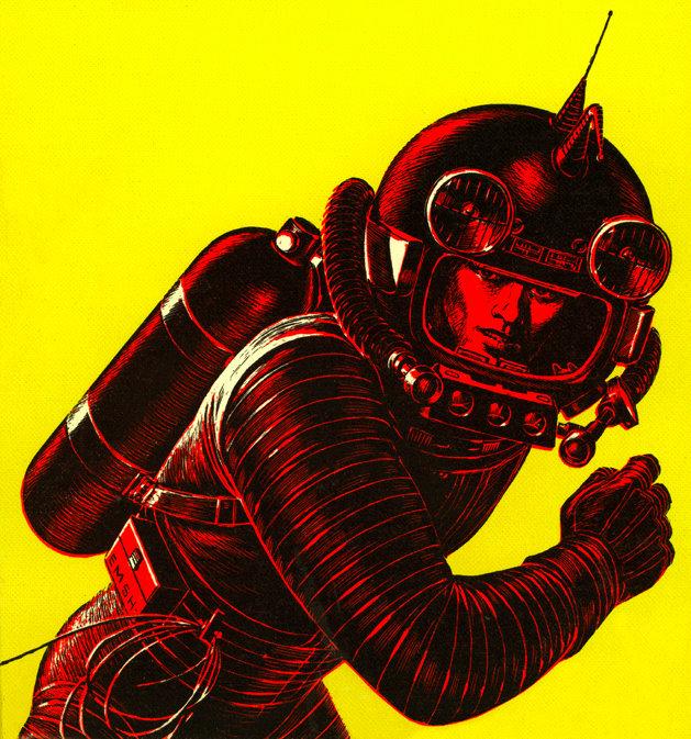 Vintage Science Fiction Wallpaper Google Search: Dark Roasted Blend: Retro Future: Space Art Update