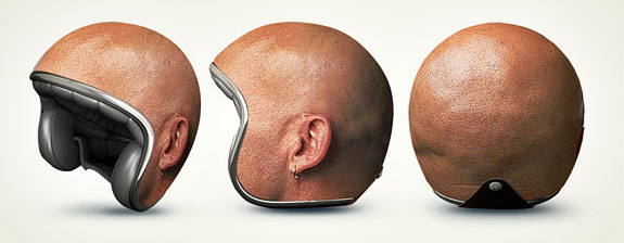 Creative & Amazing Motorcycle Helmets