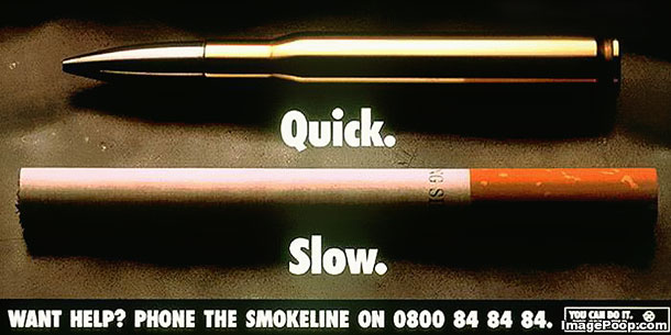 anti smoking ad A new anti-smoking ad seems to take aim at e-cigarettes.