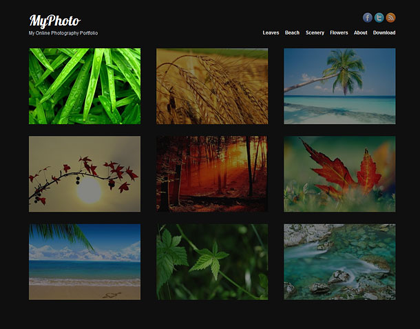 21 Free Photo Gallery And Portfolio WordPress Themes