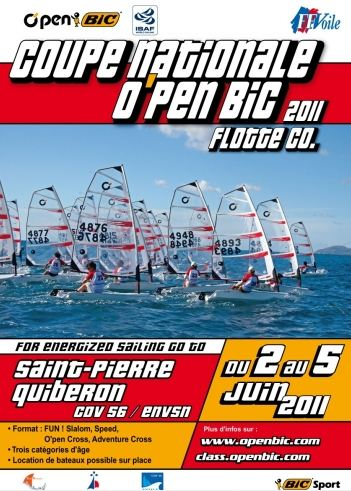 Coupe Nationale flotte collective Open Bic 2011