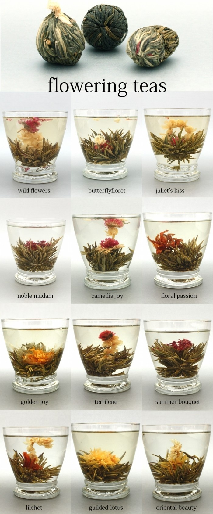 flower tea bag