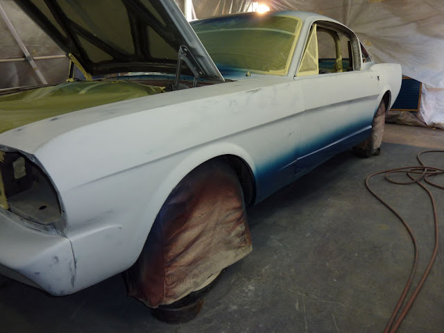 Gt350r For Sale >> 1965 GT350 side stripe stencil - paint your stripes on! - Vintage Mustang Forums