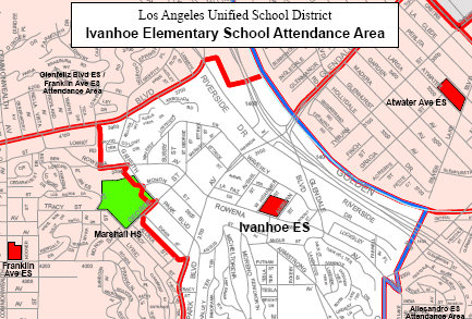 Silverlake Los Angeles Map.The Must Have Map For High Achieving Silver Lake Parents Real