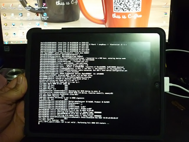 เทคนิคการ Jailbreak iPad iOS version 4.2.1 ด้วย greenpois0n Ipad017