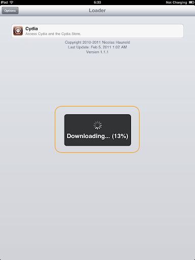 เทคนิคการ Jailbreak iPad iOS version 4.2.1 ด้วย greenpois0n Ipad023