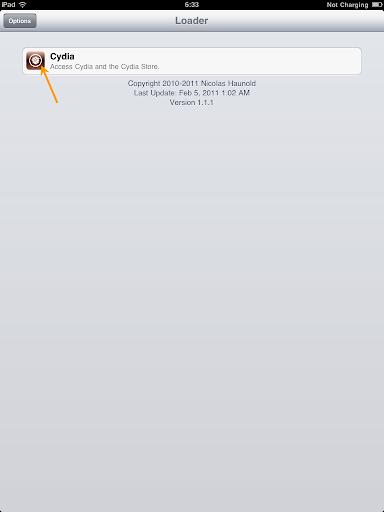 เทคนิคการ Jailbreak iPad iOS version 4.2.1 ด้วย greenpois0n Ipad021