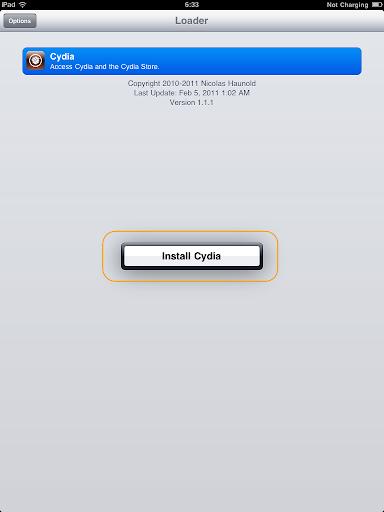 เทคนิคการ Jailbreak iPad iOS version 4.2.1 ด้วย greenpois0n Ipad022