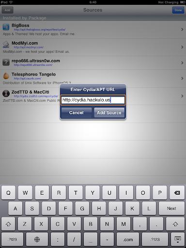 เทคนิคการ Jailbreak iPad iOS version 4.2.1 ด้วย greenpois0n Ipad038