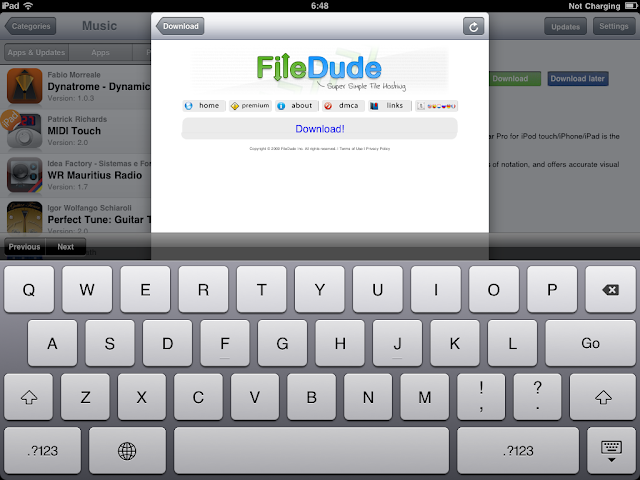 เทคนิคการ Jailbreak iPad iOS version 4.2.1 ด้วย greenpois0n Ipad054