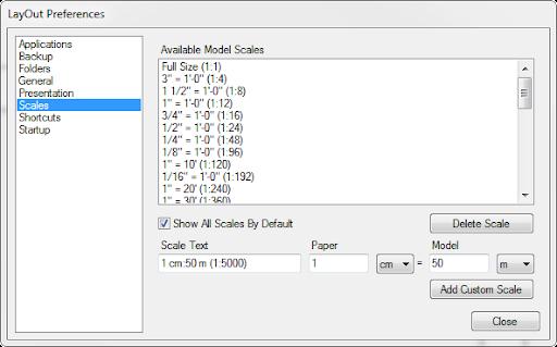 อยากทราบการตั้งค่า Scale ใน Layout SketchUp Layout02