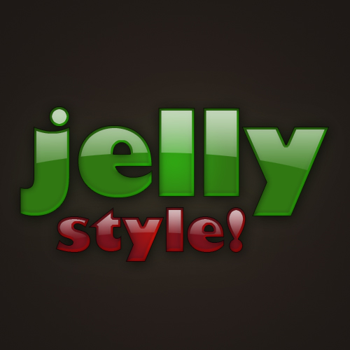 เทคนิคการสร้างตัวอักษรแบบ Plastic Jelly Pj18
