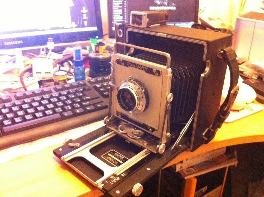 4×5相機初陣 Graflex