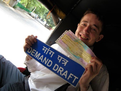 Demand Draft of a Bank