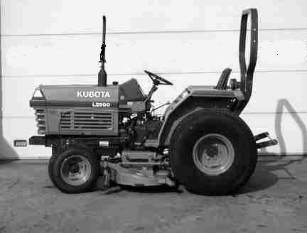 Kubota L2500DT L2500F L2500 DT F Tractor Parts Manuals for sale – Kubota L4310 Wiring Diagram