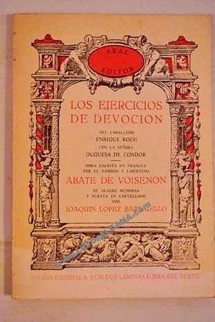 Ejercicios de devoción.- Abate de Voisenon