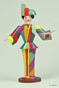 Figurine, 1926 - farblich angelegt