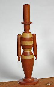 Erste von drei Figurinen für 'Das Weiße Fest', 1929 - naturbelassen