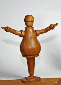 Figurine, 1916 - naturbelassen