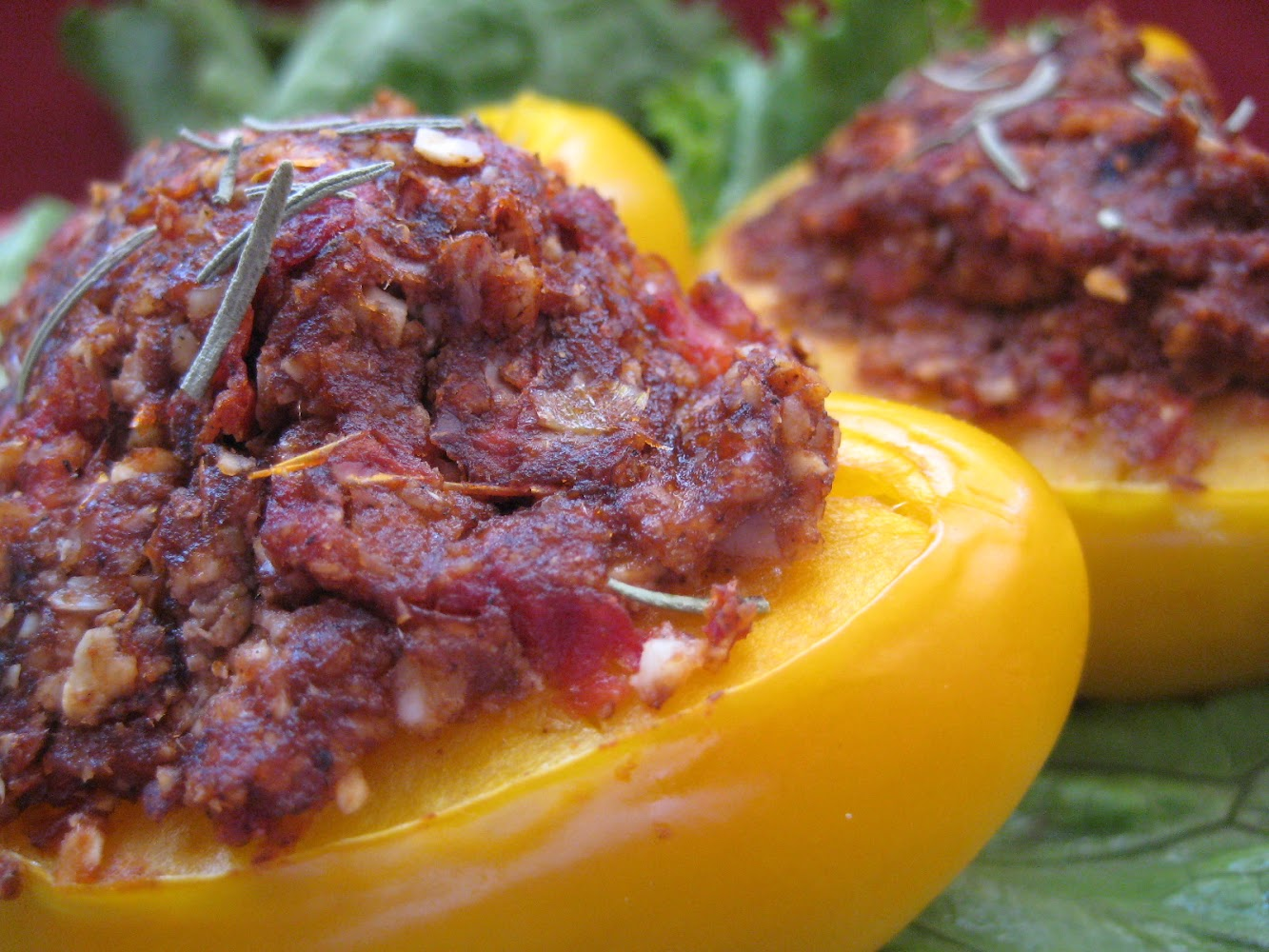 Almond Stuffed Peppers