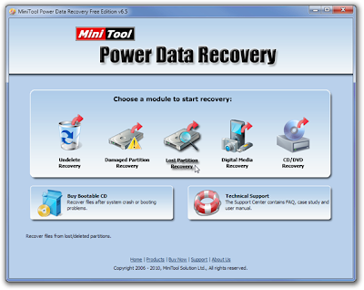 Recover Deleted Files From Damaged Disk With Power Data Recovery