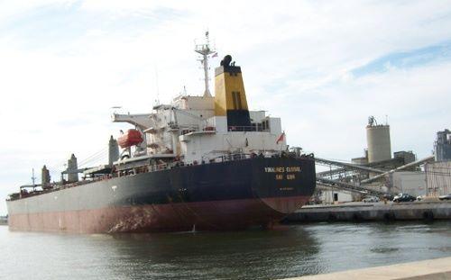 Trung Quốc giữ tàu của Vinalines: phải trả 800.000 USD mới được thả tàu Vinalines%20global