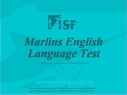 Marlins English Language Test MELT2