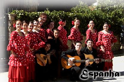 """ESPANHA - Grupo Gaditano de Música e Danças """"Andalucia Dos"""""""