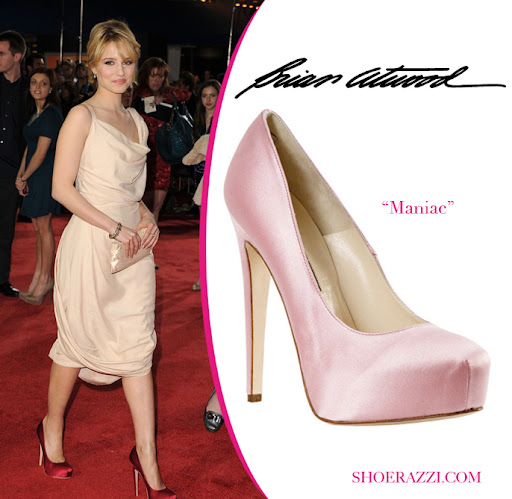 Celebrity + Shoes .. Brian Atwood