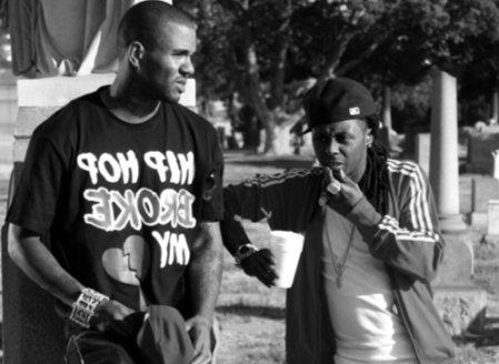 Foto do Lil Wayne e do Game