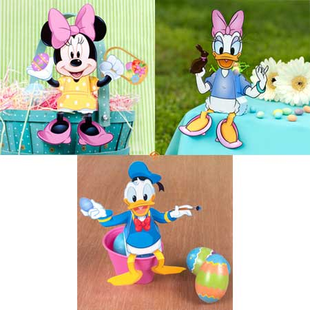 Disney Easter Box Papercrafts