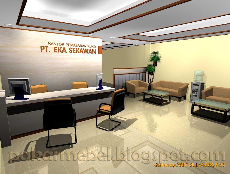 ( PIC ) Desain Interior Counter-BACKDROP