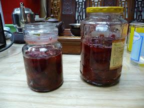 草莓醬兩樽