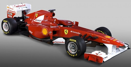 "2011 Ferrari F150 Formula 1 race car. Indeed, Ford claims, ""when Ferrari"