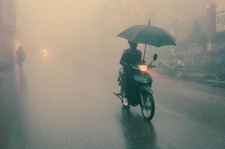 عکاسی در هوای مه آلود