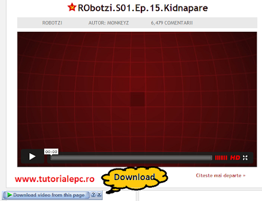 Descarca episoadele video Robotzi